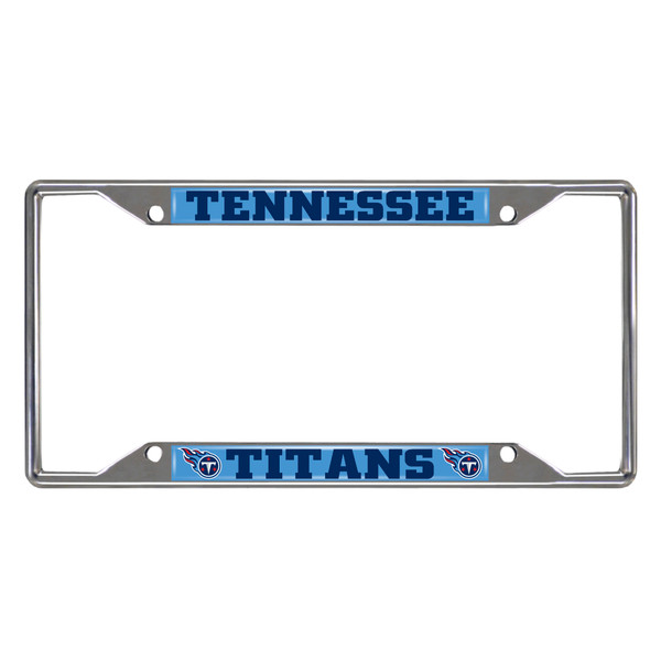 FanMats Tennessee Titans NFL License Plate Frame