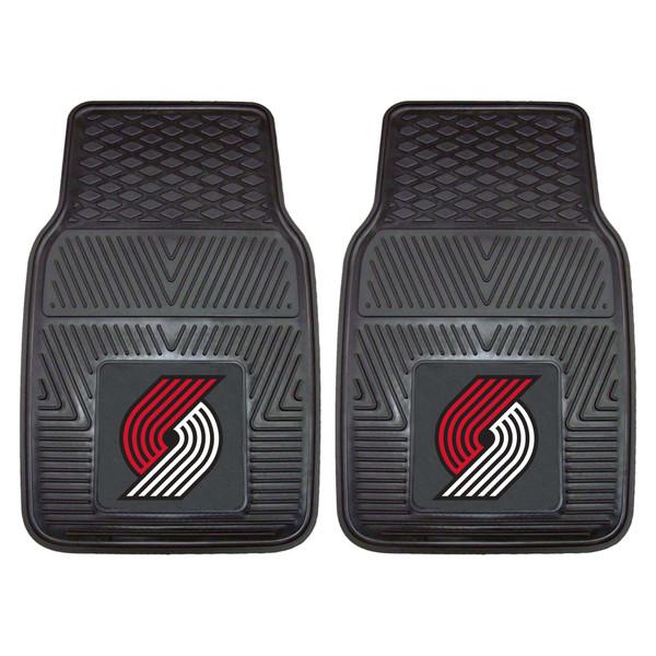 FanMats Portland Trail Blazers NBA 2pc Vinyl Car Mats