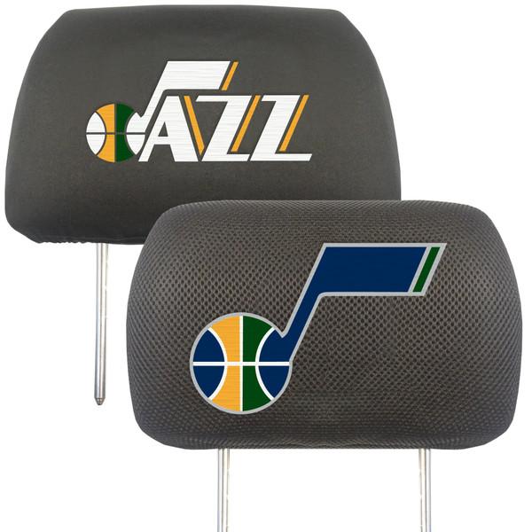 FanMats Utah Jazz NBA Head Rest Cover
