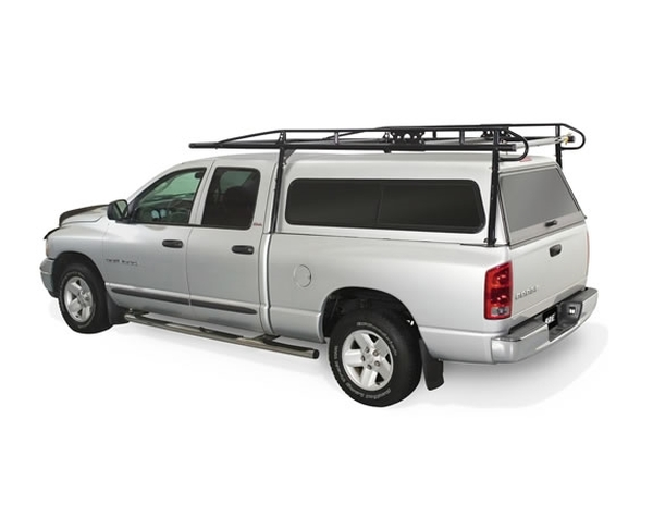 Ladder Rack with Camper Shell