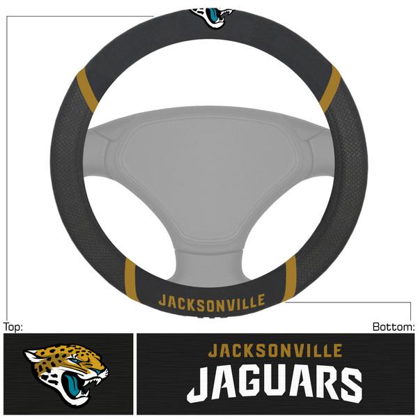 Jacksonville Jaguars NFL Steering Wheel Cover