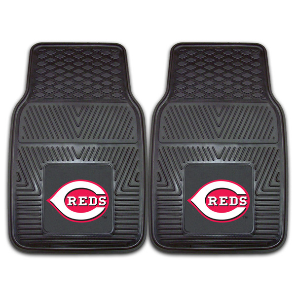 Cincinnati Reds MLB 2pc Vinyl Car Mats