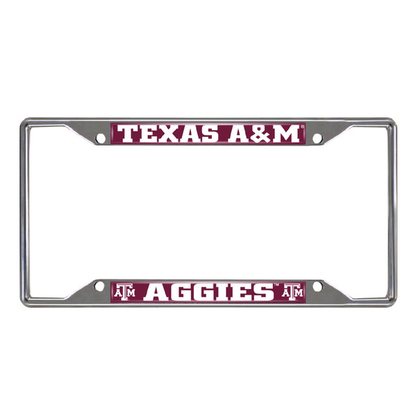 FanMats Texas A&M License Plate Frame