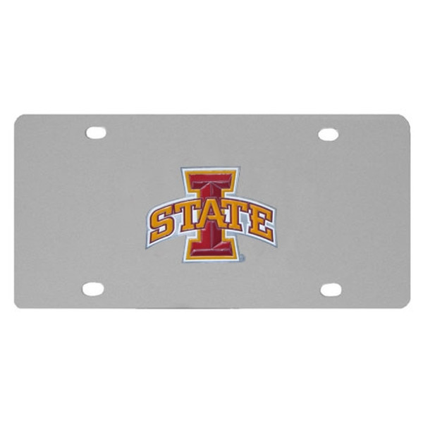Iowa St. Cyclones Steel License Plate