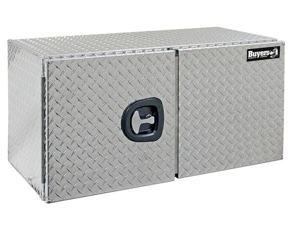 Diamond Tread Aluminum Underbody Truck Box w/ Doub