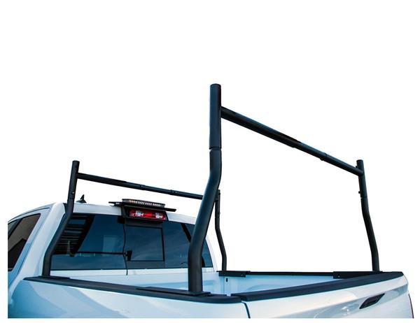 500lb Capacity Black Steel Truck Rack