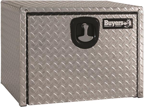 Diamond Tread Aluminum Underbody Truck Box w/ 3-Po