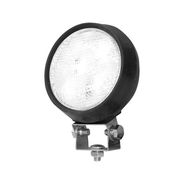 Clear Sealed Rubber Flood Light with 6 LEDs 5 Inch