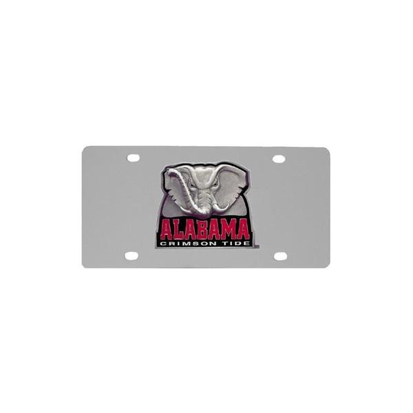 Alabama Crimson Tide Steel License Plate