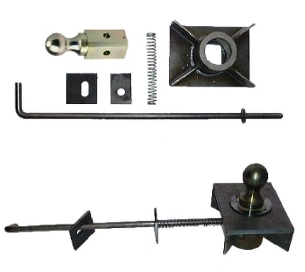 Turnoverball Gooseneck Hitch Flatbed Kit