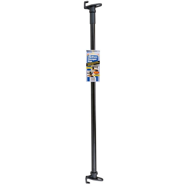 Clothes Hanger Bar Adjustable 36 to 65 inches
