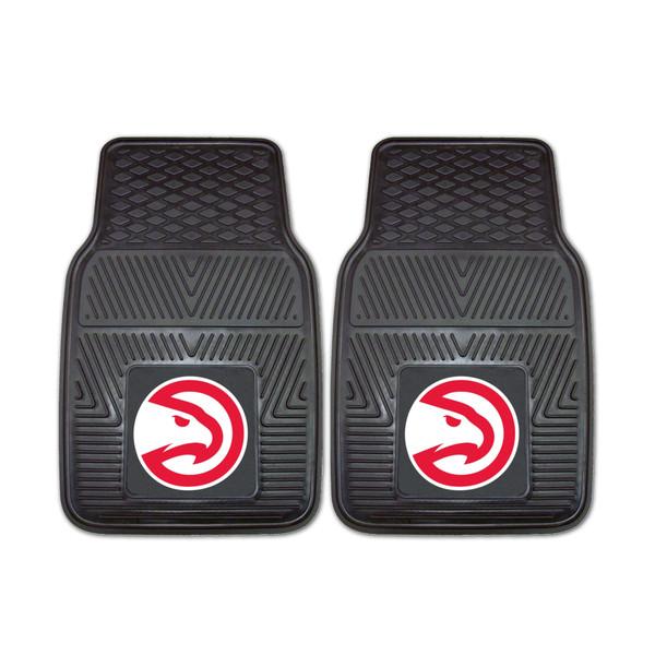 FanMats Atlanta Hawks NBA 2pc Vinyl Car Mats