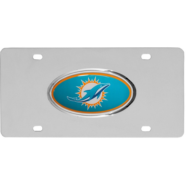 Miami Dolphins Steel Plate