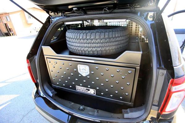 Aluminum SUV Lock Up Boxes