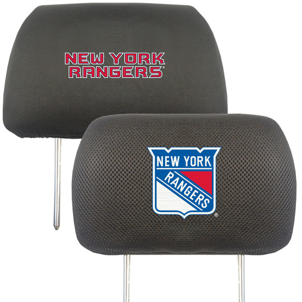 FanMats New York Rangers NHL Head Rest Cover
