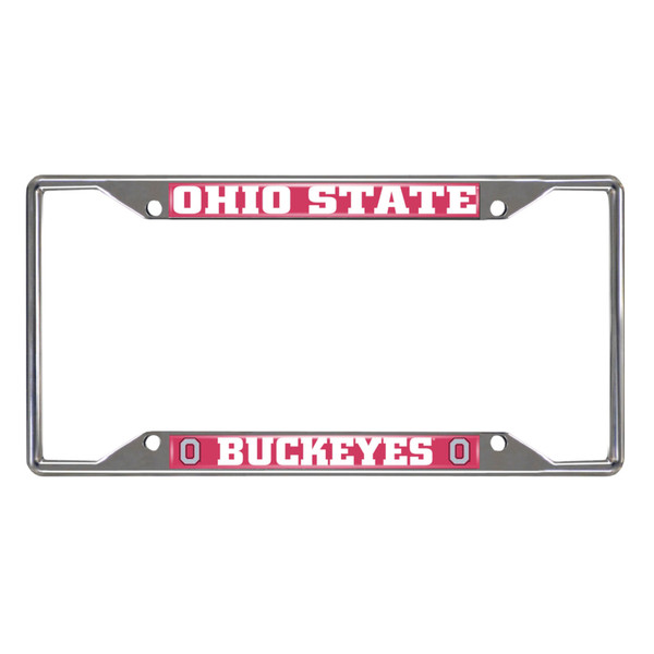 Ohio State License Plate Frame