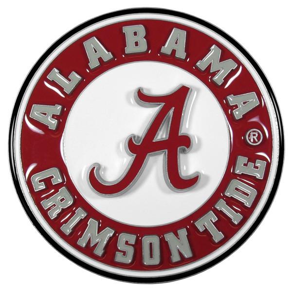 Alabama Crimson Tide Hitch Cover Class II and Class III Metal Plugs