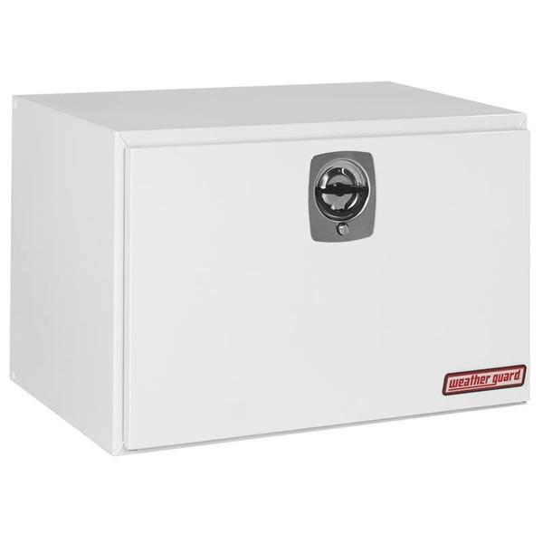 Underbody Steel Single Door Toolboxes Multiple Lengths White or Black