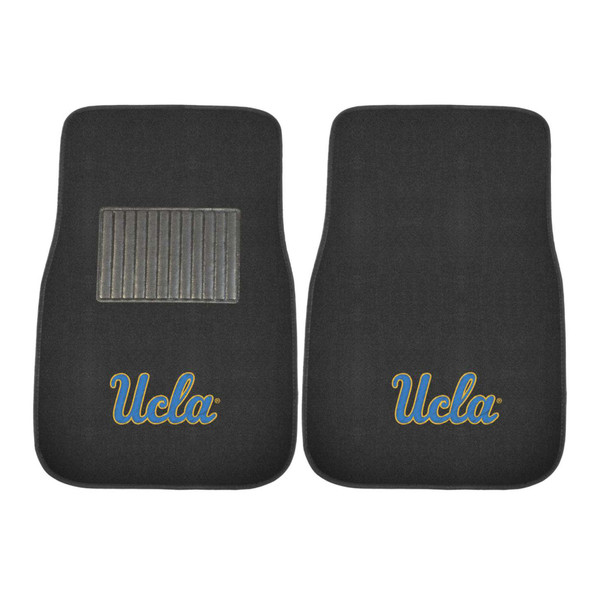 UCLA 2pc Embroidered Car Mat