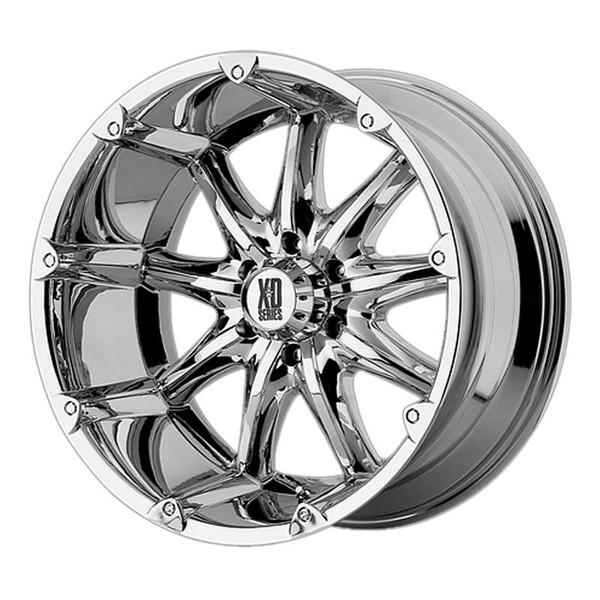 XD Series Badlands Chrome Wheels
