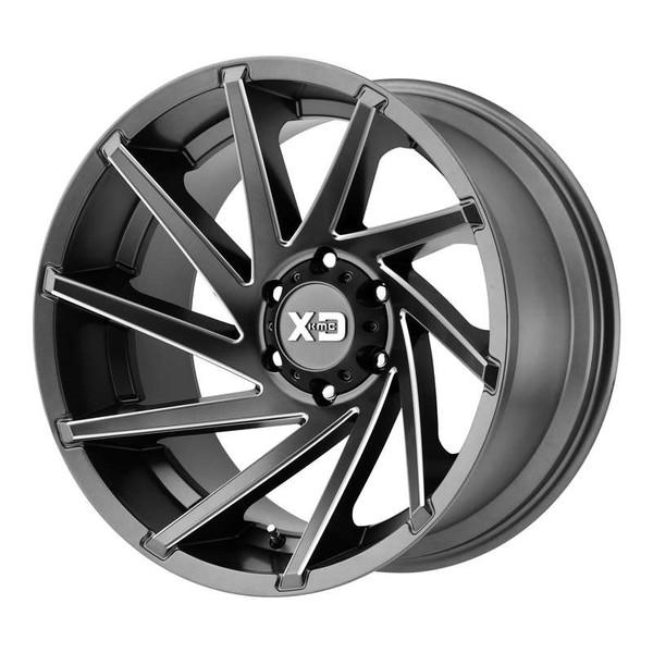 XD Series Cyclone Grey Wheels