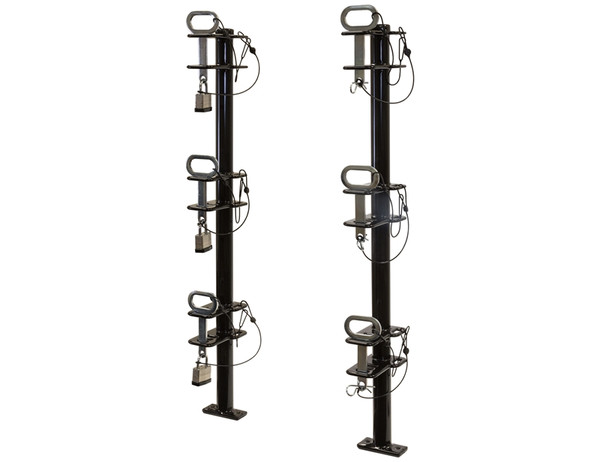 3-Position Channel Style Lockable Trimmer Rack for
