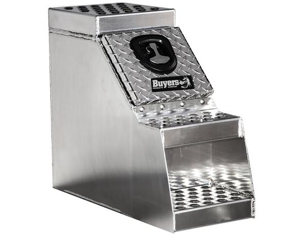 Heavy Duty Diamond Tread Aluminum Step Box