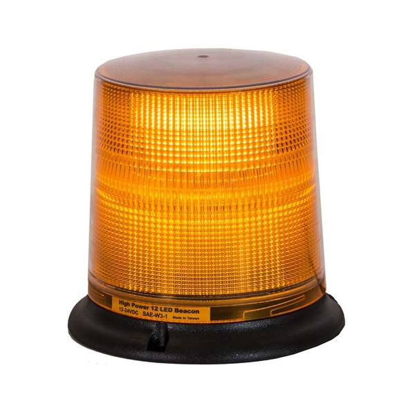 Tall Amber Beacon Light with 12 LED