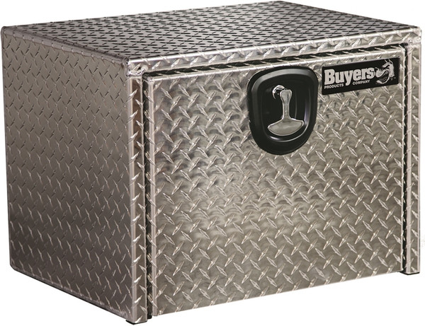 Diamond Tread Aluminum Underbody Truck Box w/ Comp