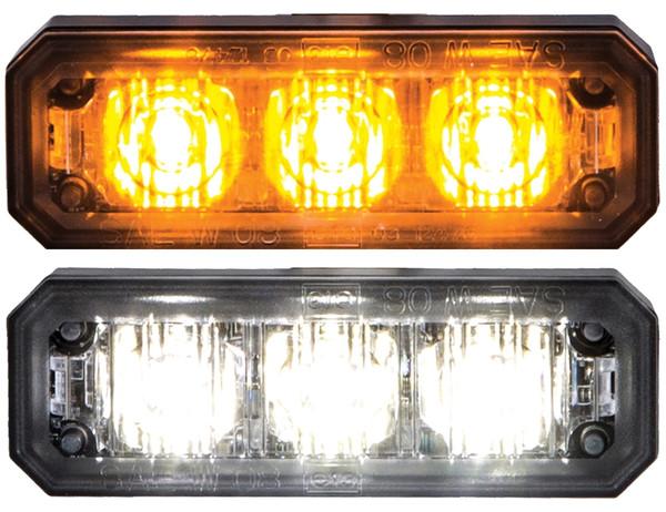 Multi Mount Mini Strobe Light with 3 LEDs 2.5 Inch