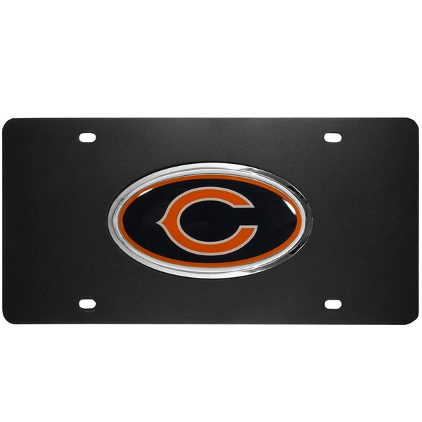 Chicago Bears Acrylic License Plate