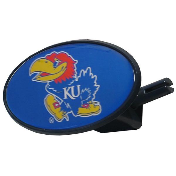 Kansas Jayhawks Plastic Hitch Cover Class III