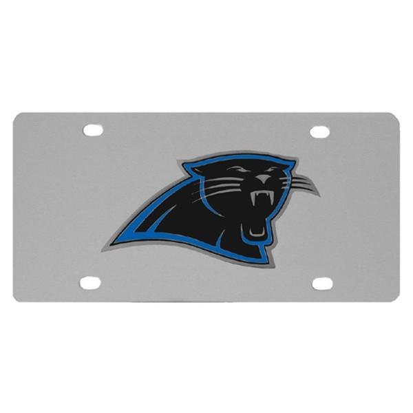 Carolina Panthers Steel License Plate