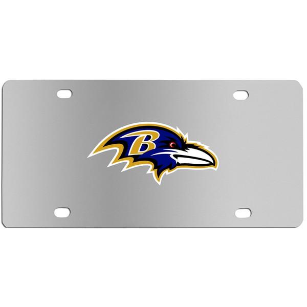 Baltimore Ravens Steel License Plate