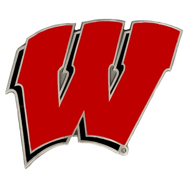 Wisconsin Badgers Hitch Cover Class III Wire Plugs