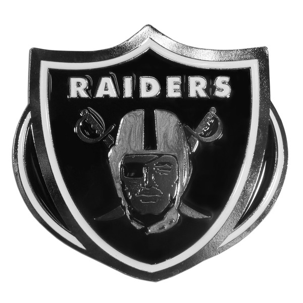 Oakland Raiders Hitch Cover Class III Wire Plugs