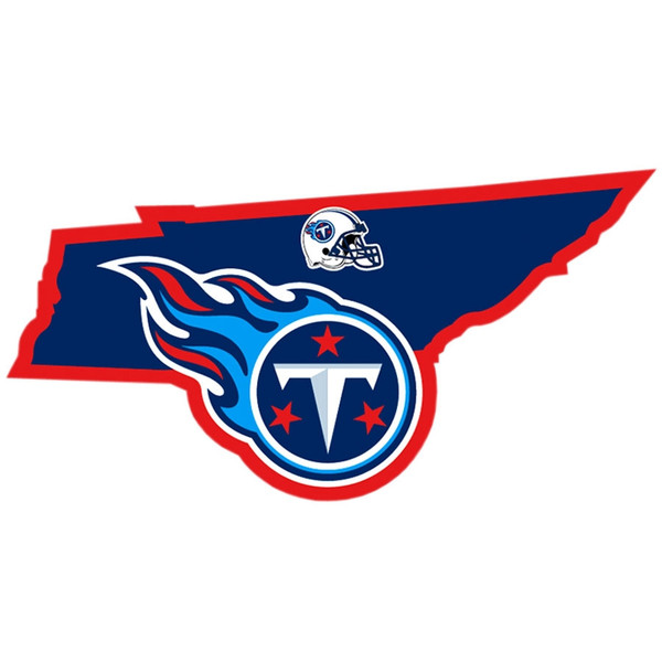Tennessee Titans Home State Decal