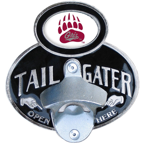 Montana Grizzlies Tailgater Hitch Cover Class III