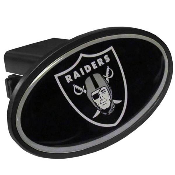 Oakland Raiders Plastic Hitch Cover Class III