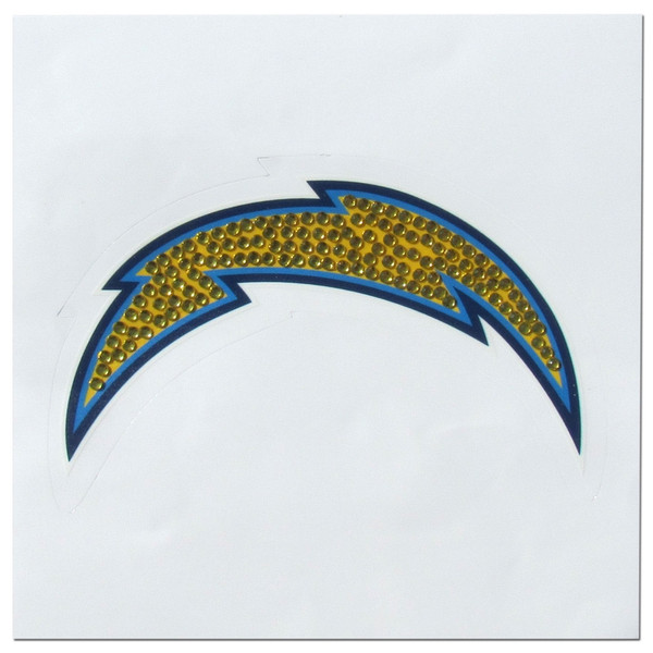 Los Angeles Chargers Vinyl Bling Decal
