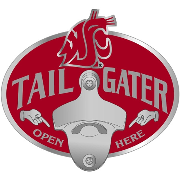 Washington St. Cougars Tailgater Hitch Cover Class III