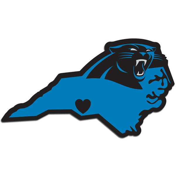 Carolina Panthers Home State Decal