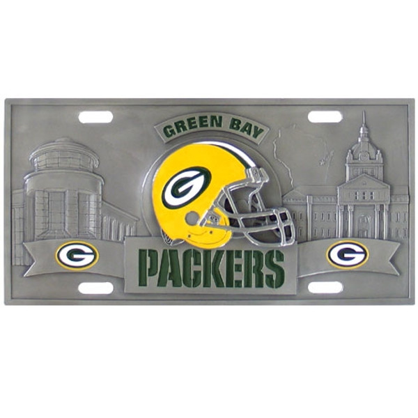 Green Bay Packers NFL Collector's License Plate