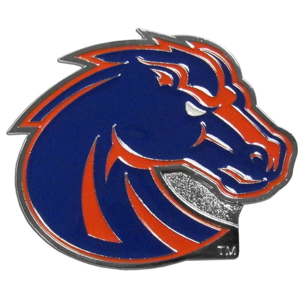 Boise St. Broncos Hitch Cover Class III Wire Plugs