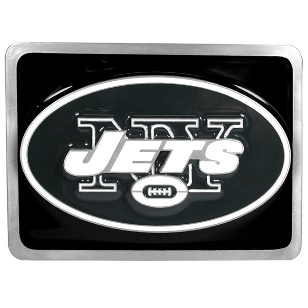 New York Jets Hitch Cover Class II and Class III Metal Plugs