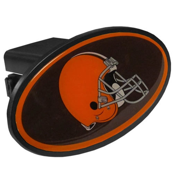 Cleveland Browns Plastic Hitch Cover Class III