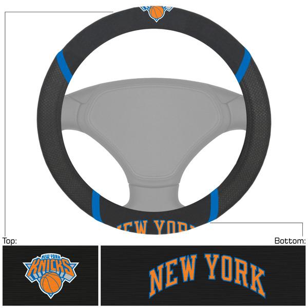 FanMats New York Knicks NBA Steering Wheel Cover
