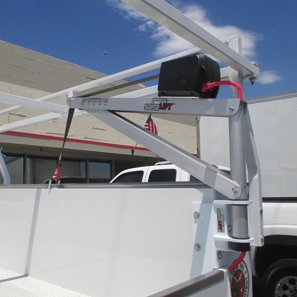 SpitzLift corner mount for service bodies.