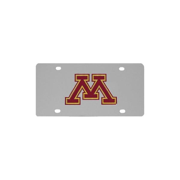 Minnesota Golden Gophers Steel License Plate
