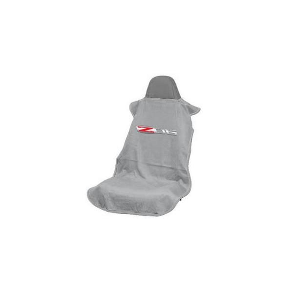Corvette Grey Z6 Seat Armour